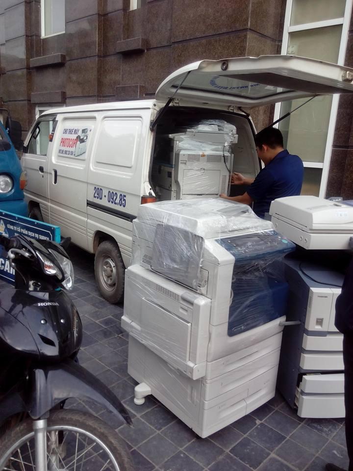Cho thuê máy photocopy tại Khu công nghiệp Đồng Văn, Phủ Lý- Hà Nam